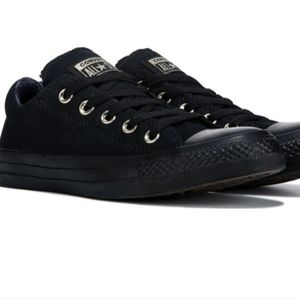Converse Madison in black gold